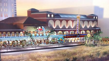 An artists rendering of the upcoming Margaritaville location in Atlantic City.