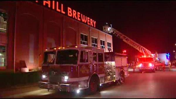 Fire prompts evacuation at Wilmington Iron Hill Brewery