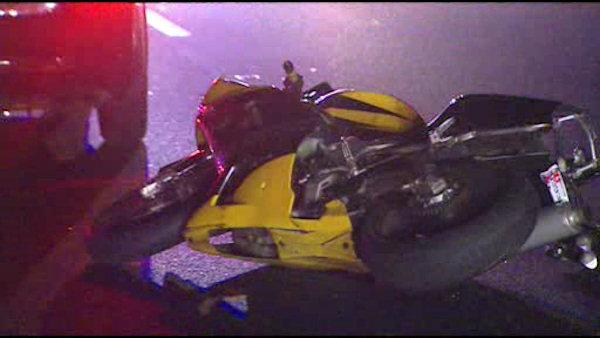 Motorcyclist killed in crash on I-95 in Del.
