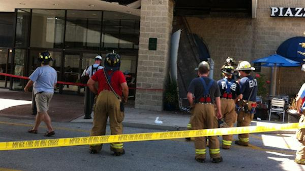 1 injured in KOP Mall roof collapse