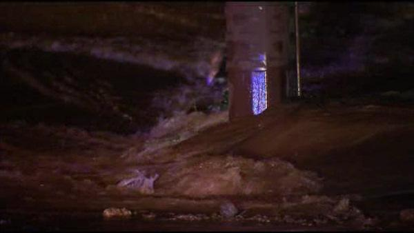 Water main break in NE Phila.