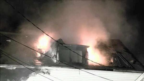 Fire destroys vacant house in Lindenwold