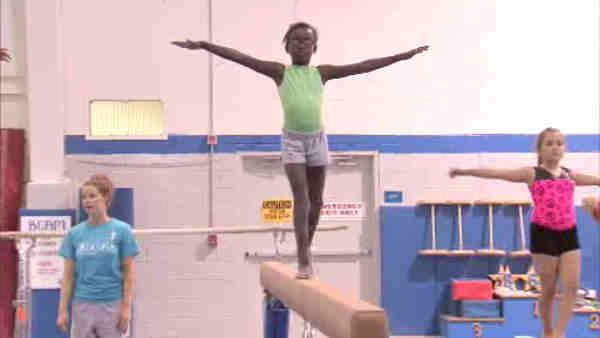 Local gymnasts inspired by Gabby Douglas win