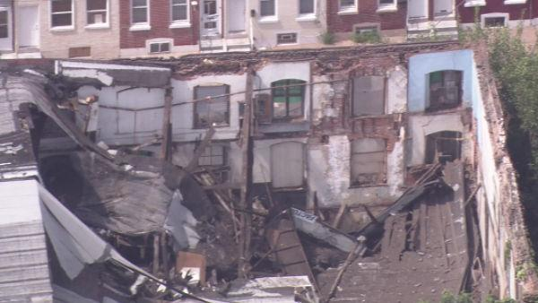 3-story building collapses in Port Richmond