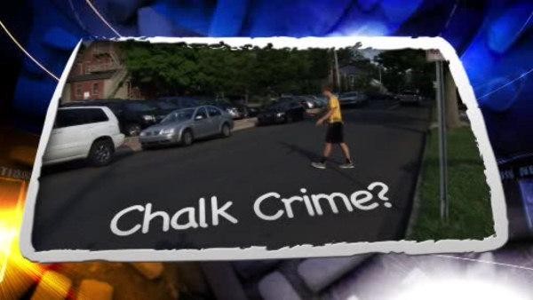 2 Bucks Co. teens cited for chalk drawings