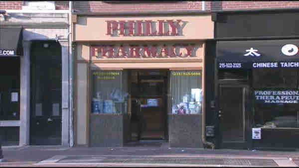 Thieves burglarize Center City pharmacy