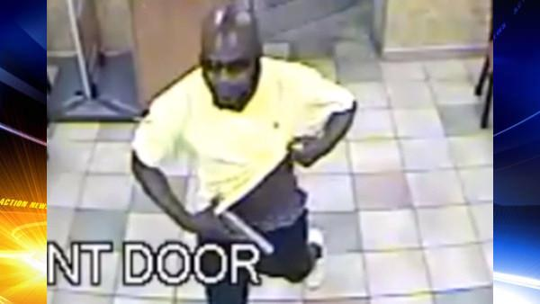Suspect sought in armed Subway shop robberies