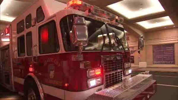 Fire truck stolen while AC firefighters at work