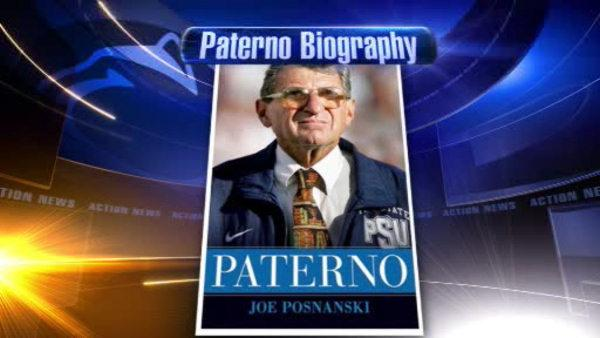 New Paterno biography in stores Tuesday