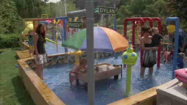 nj man builds water park in backyard null