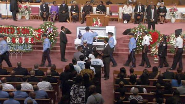 Funeral for Philadelphia Police Officer Moses Walker Jr.