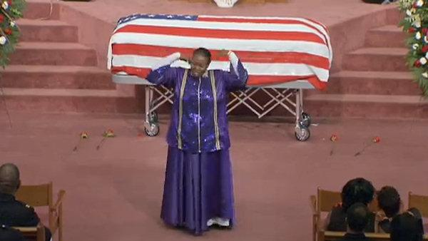 Funeral for Philadelphia Police Officer Moses Walker J