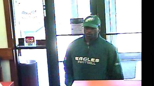 Search for credit union robbery suspect