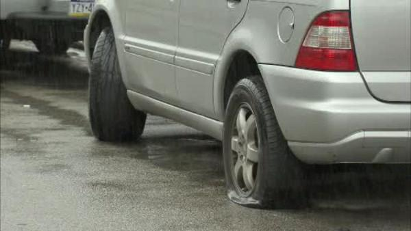 Lawncrest residents wake up to slashed tires