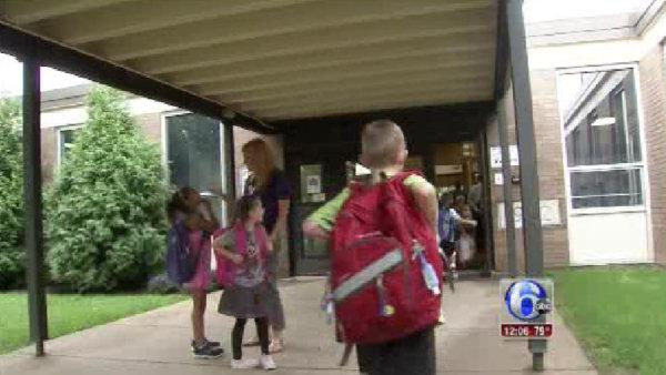 Kids head back to class in Conshohocken