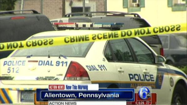 3 officers injured in Allentown shootout