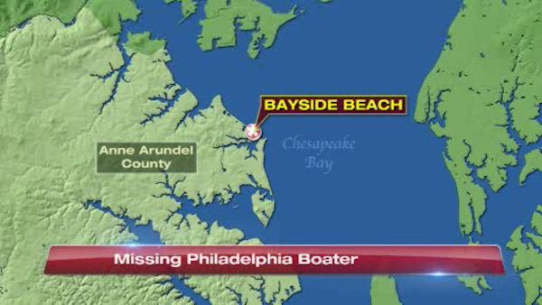 Body of missing Pa. boater found in Md.