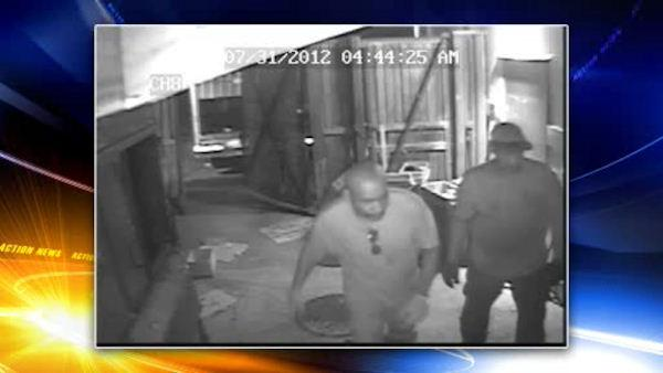 Suspects sought in TGI Friday's burglary