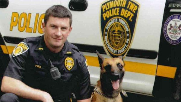 Ofc. Fox's canine may go to his family