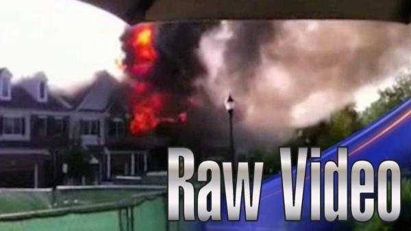 Viewer captures Cherry Hill fire on camera