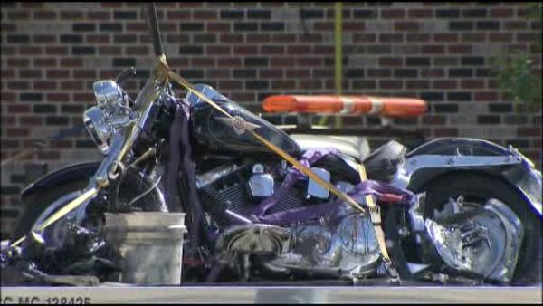 Car plows into motorcyclist in Magnolia, N.J.