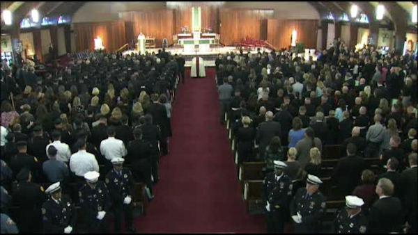 Saying goodbye to Officer Fox