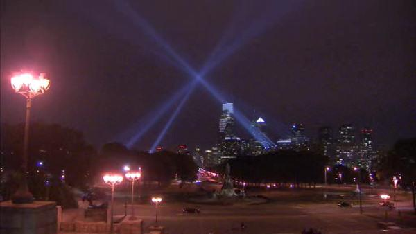 'Open Air' installation puts spotlight on Philly