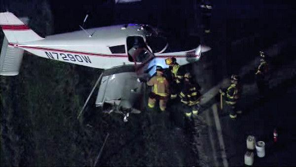Small plane accident in Camden County, N.J.