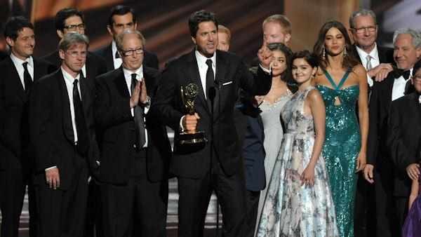 'Modern Family' win big at Emmys