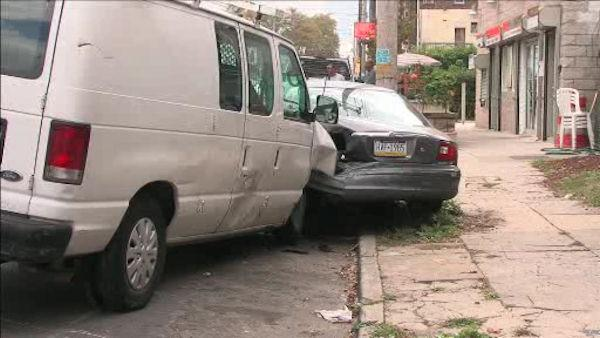 Police: 10-year-old steals van, crashes