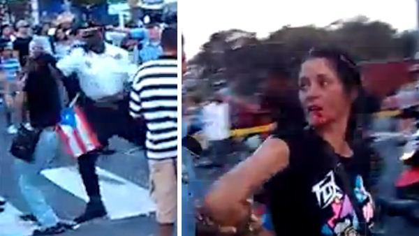 Philadelphia cop seen punching woman on video ID'd