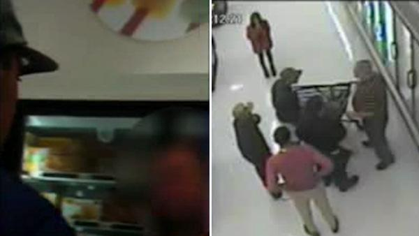 Suspects record NE Phila. supermarket beating