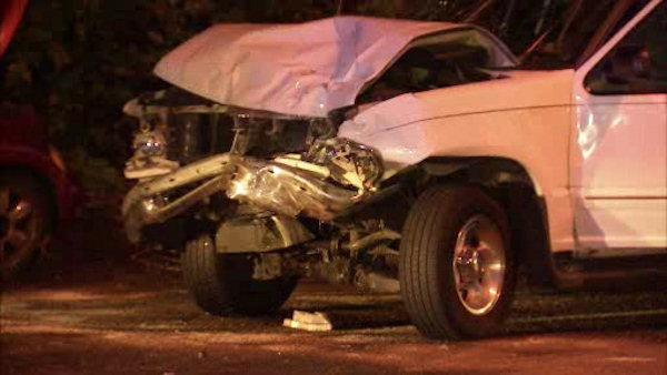 1 critical in Kelly Drive crash
