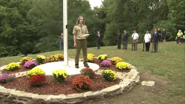 Eagle Scout restores forgotten war memorial