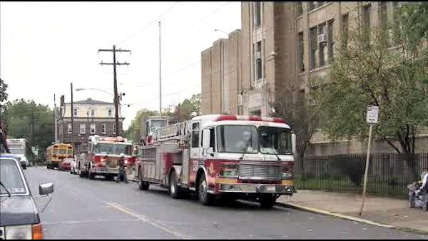 Kids sickened by fumes at Philadelphia school