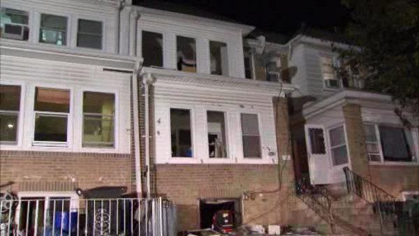 Firefighters battle basement fire in Upper Darby