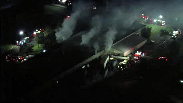 3-alarm fire at Richlandtown, Bucks County warehouse