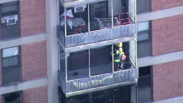 Boy, 5, dies in Philadelphia high-rise fire