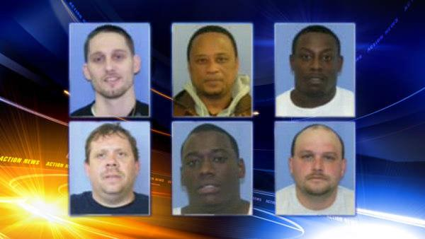 6 arrested in million dollar meth ring bust