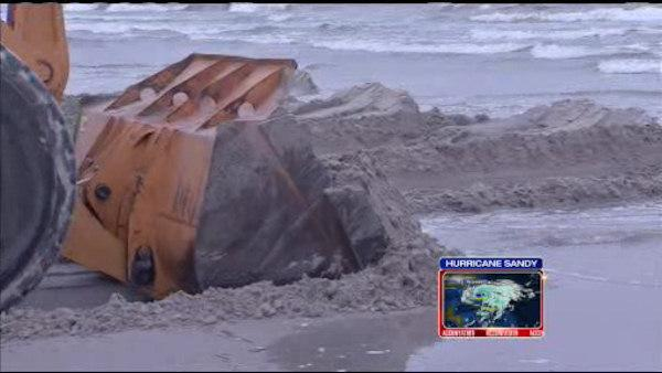 Jersey shore prepares for Sandy