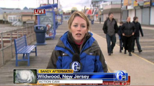 Jennifer Joyce reports from Wildwood, NJ
