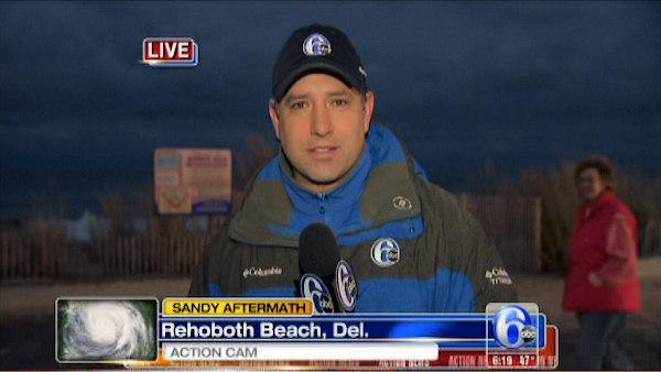 Chad Pradelli reports from Rehoboth Beach, Delaware