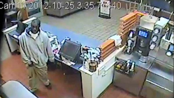 Man caught on camera stealing McDonald's cash drawer