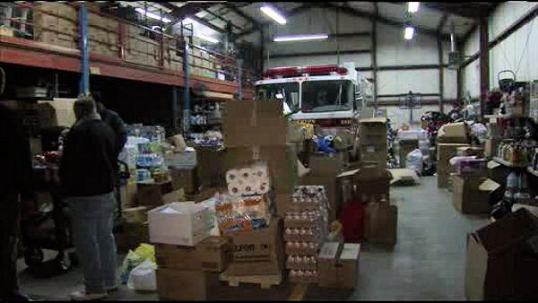Donations pour in for Toms River Sandy victims