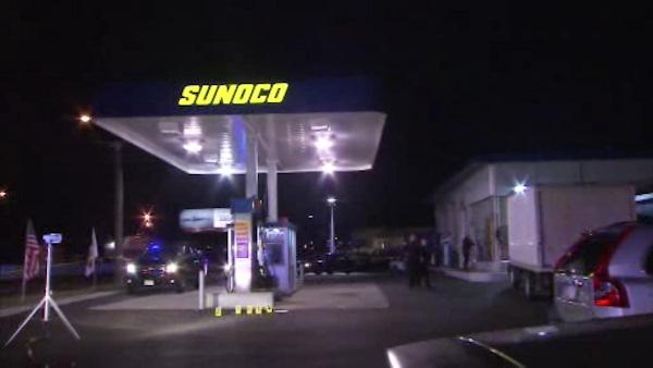 Surveillance released of NJ gas station shooting
