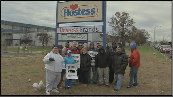 Hostess going out of business, cites strike