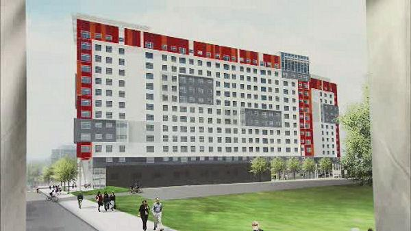 Breaking ground on $100M residence hall at Temple