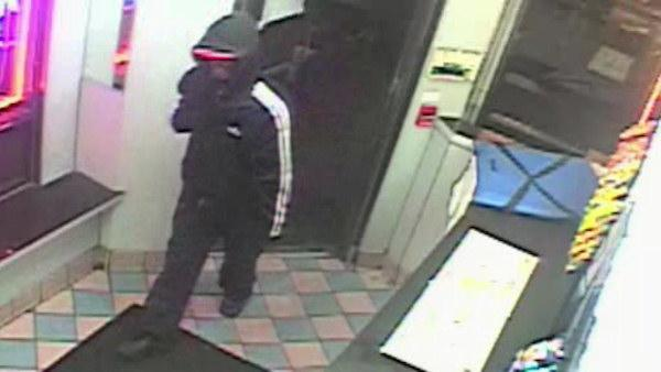 Surveillance released of pizza parlor armed robbery