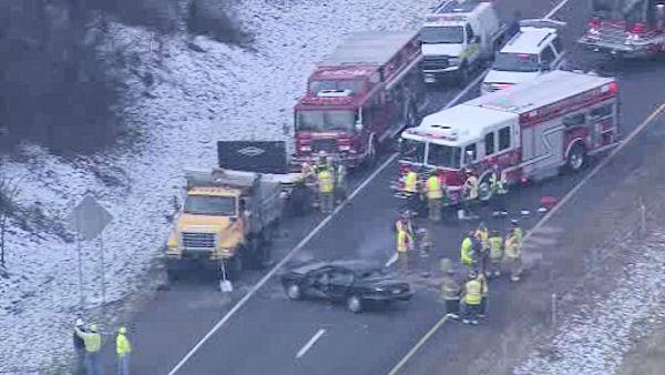 422 East reopens in Montgomery County, Pa. after accident