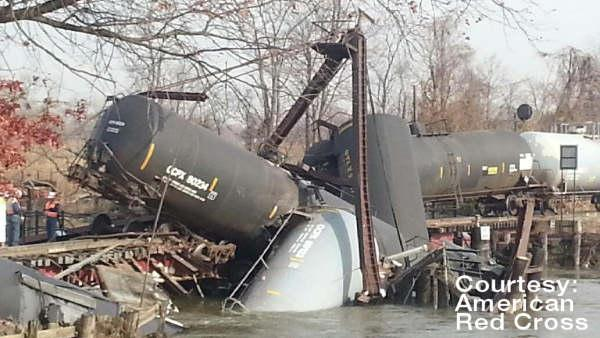 Paulsboro Train Wreck